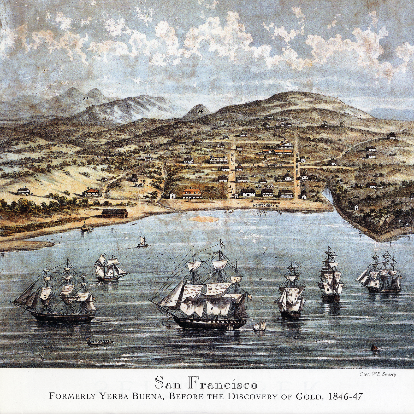 the significance of the gold rush in the history of california and san francisco Early days of california and the westward movement  before the discovery of gold in california few outsiders came here  provisions for their bering sea fur hunters landed near san.