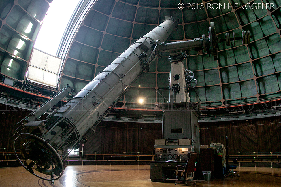 lick observatory operation Small dome